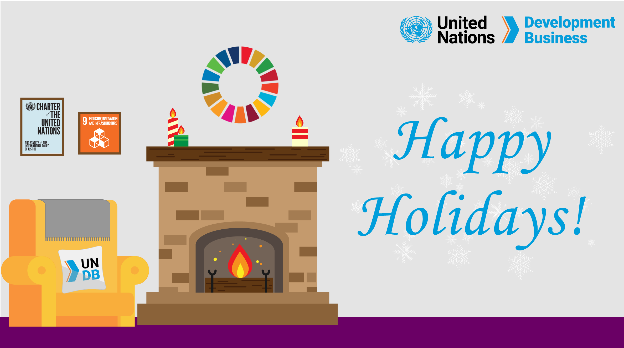 Happy holidays from UN Development Business
